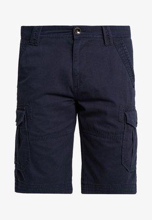 CARGO - Pantalones cargo - knitted navy blue