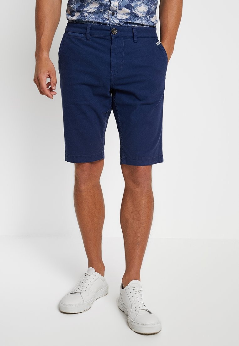 TOM TAILOR - OVERDYED - Shorts - cosmos blue
