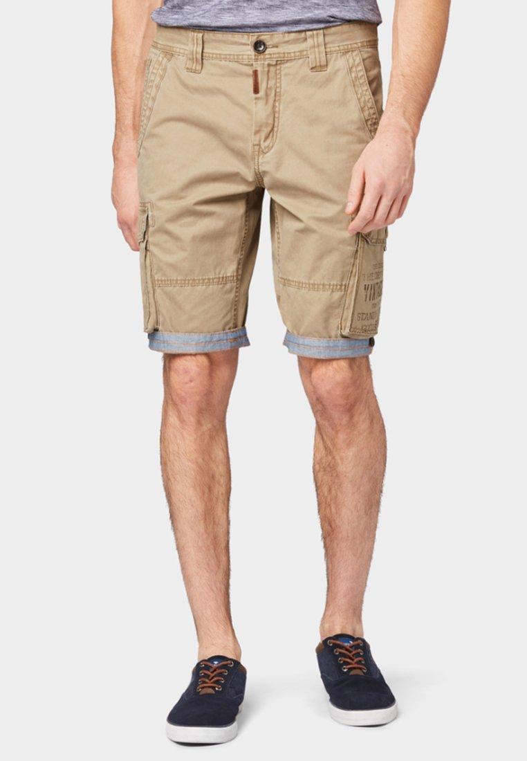 TOM TAILOR - Shorts - camel