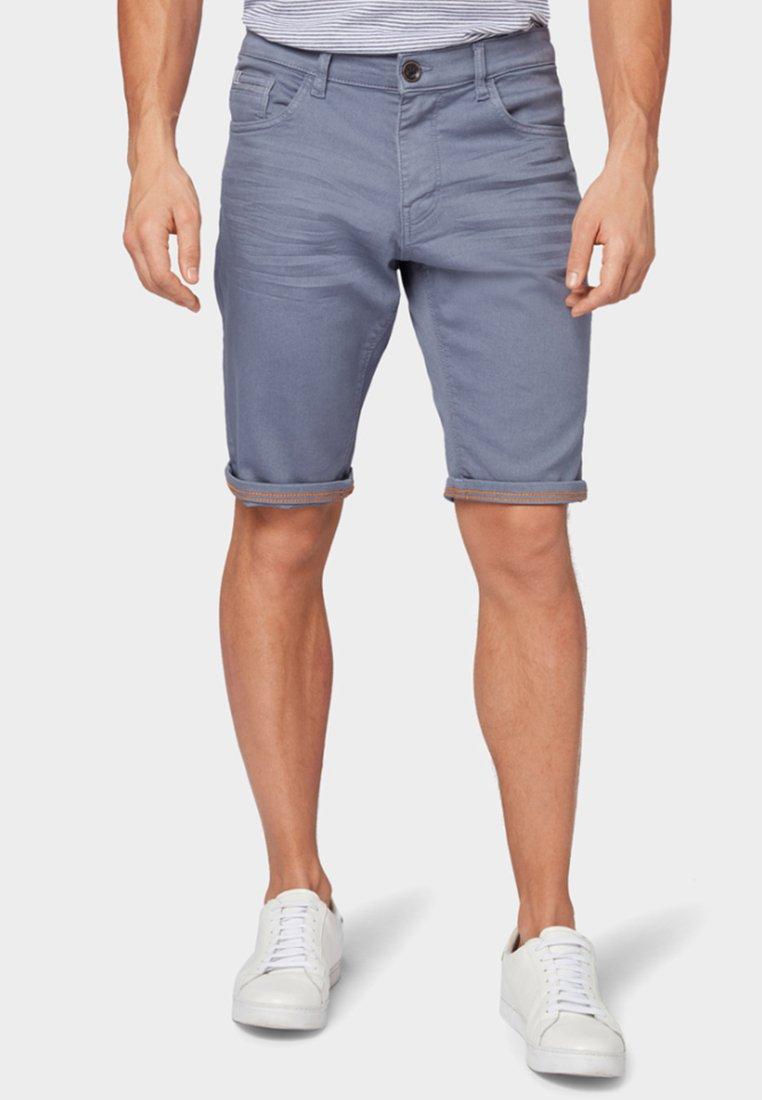 TOM TAILOR - Denim shorts - dove grey