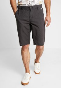TOM TAILOR - STRUCTURE - Shorts - grey - 0