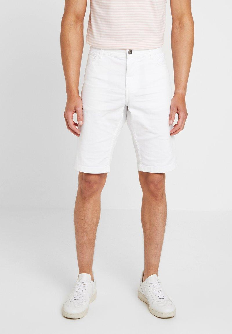 TOM TAILOR - Denim shorts - white