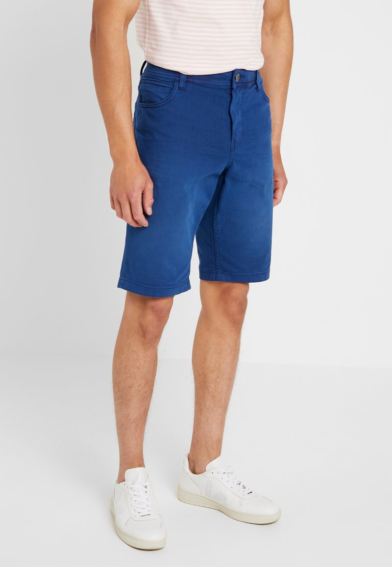 TOM TAILOR - Denim shorts - after dark blue