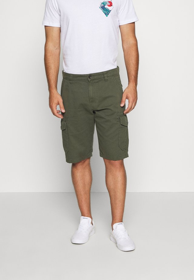 Cargo trousers - urban olive green