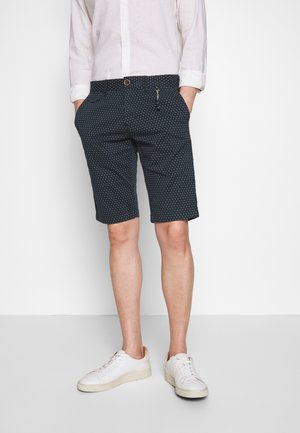 Shorts - blue dotted design