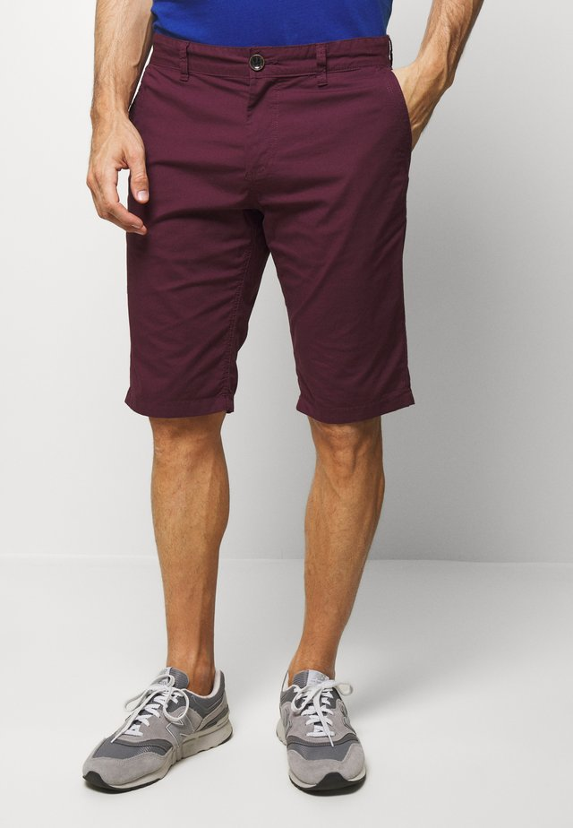Shorts - bordeaux red