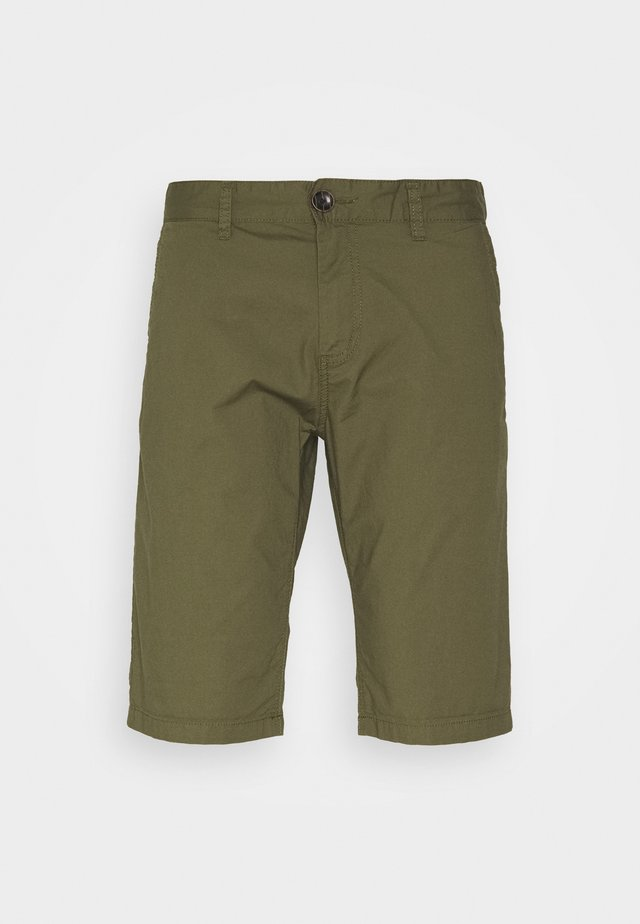 Shorts - olive night green