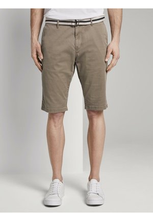 Shorts - beige rhomb design