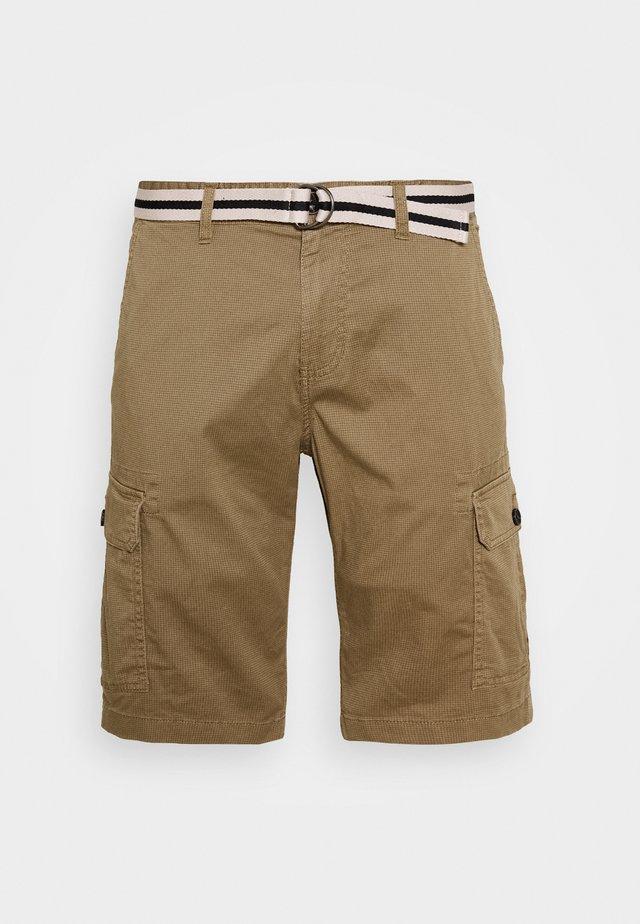 PRINTED  - Shorts - beige/brown