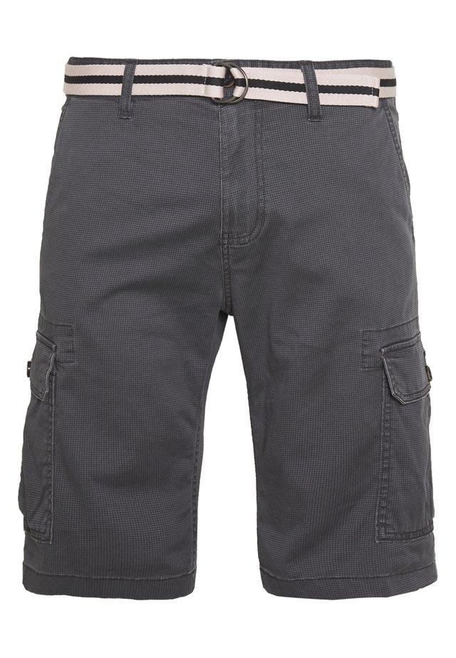PRINTED  - Shorts - grey