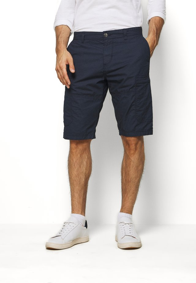 BERMUDA - Shorts - blue mini geo design