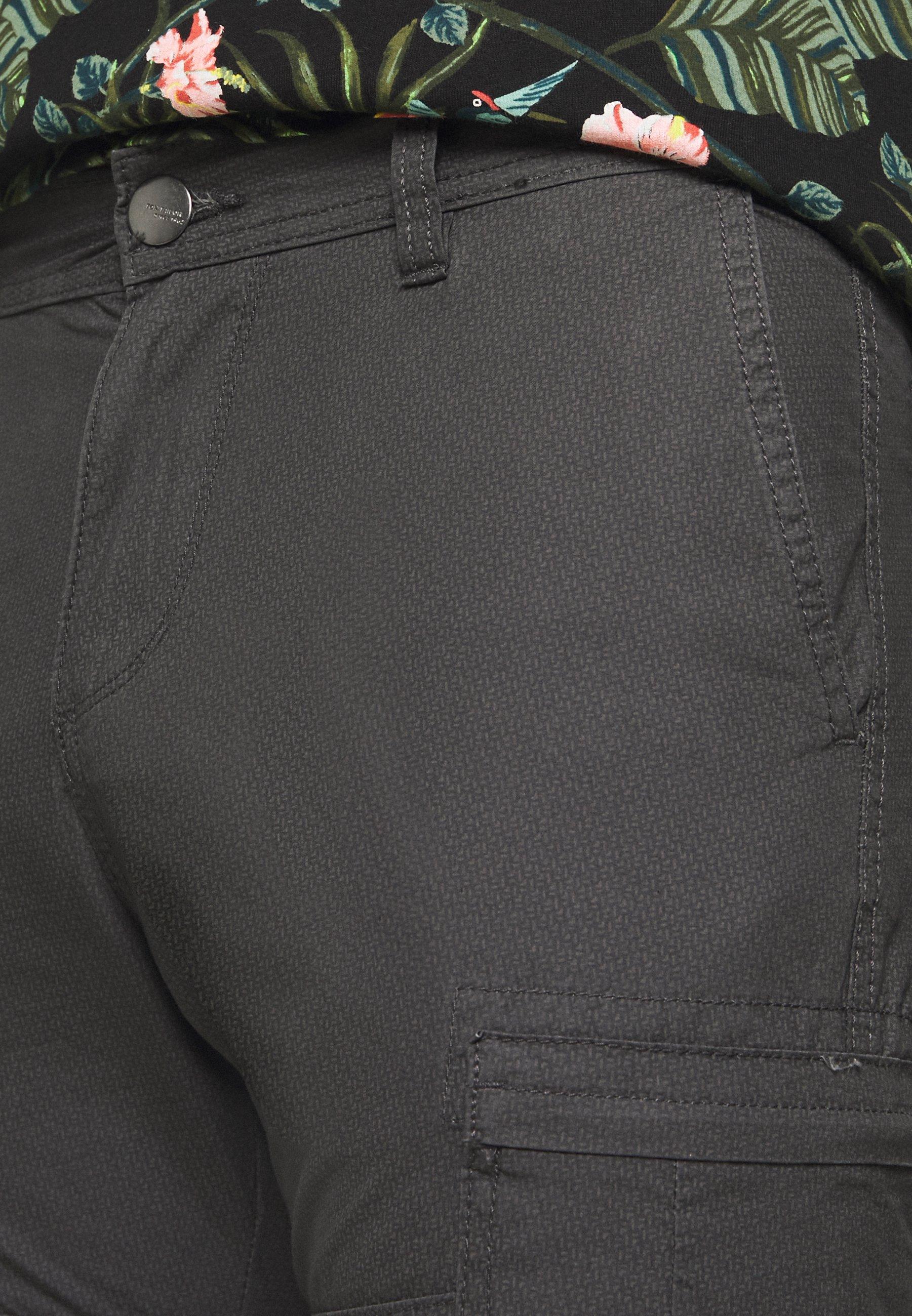 Tom Tailor Bermuda - Shortsit Grey Mini Geo Design