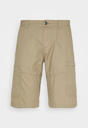 BERMUDA - Shorts - beige mini geo design