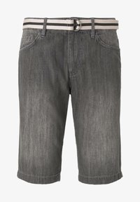 TOM TAILOR - Shorts di jeans - grey denim - 6