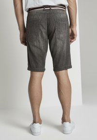 TOM TAILOR - Shorts di jeans - grey denim - 2