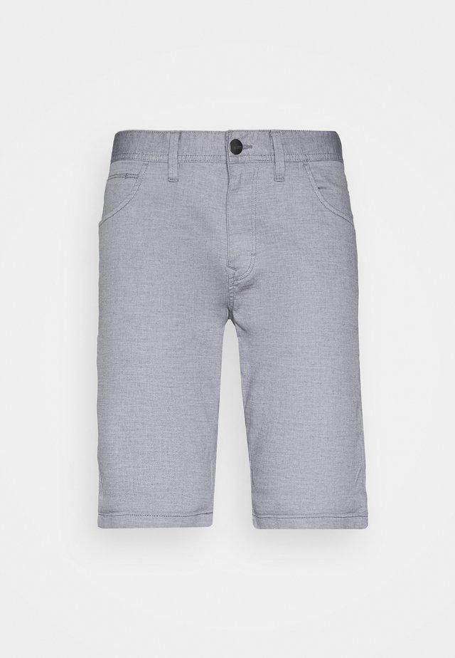 STRUCTURED - Shortsit - blue
