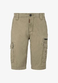 TOM TAILOR - Shorts di jeans - honey camel beige - 6