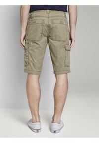 TOM TAILOR - Shorts di jeans - honey camel beige - 2