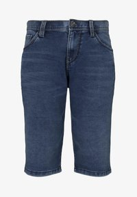 TOM TAILOR - Shorts di jeans - used mid stone blue denim - 6