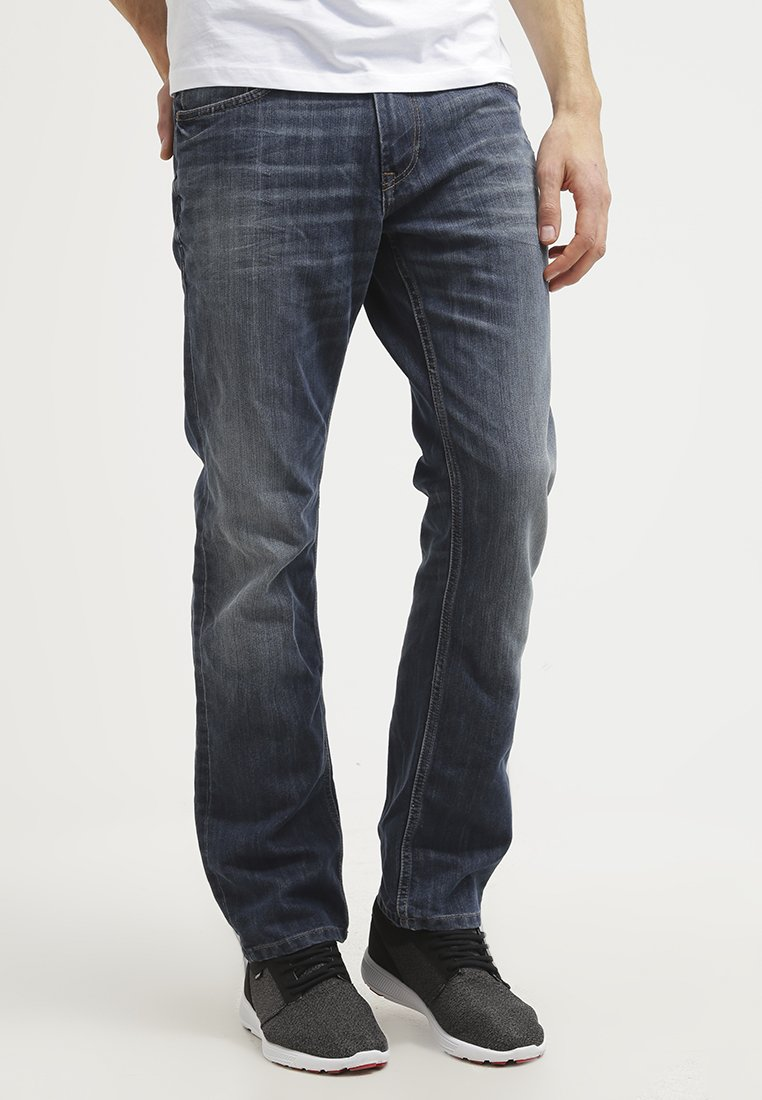 TOM TAILOR - MARVIN - Straight leg jeans - mid stone wash denim