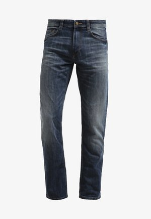 MARVIN - Straight leg jeans - mid stone wash denim