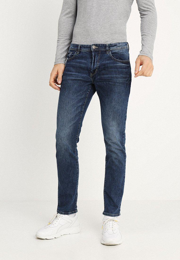 TOM TAILOR - JOSH - Jeans Slim Fit - light stone wash denim