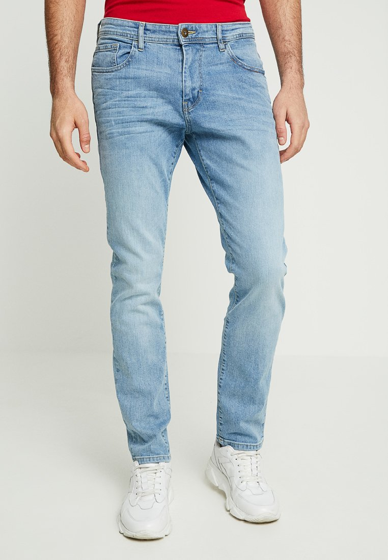 TOM TAILOR - JOSH - Jeans Slim Fit - bleached blue denim