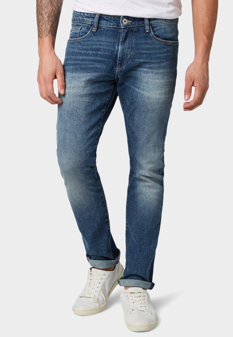 TOM TAILOR - Slim fit jeans - blue denim