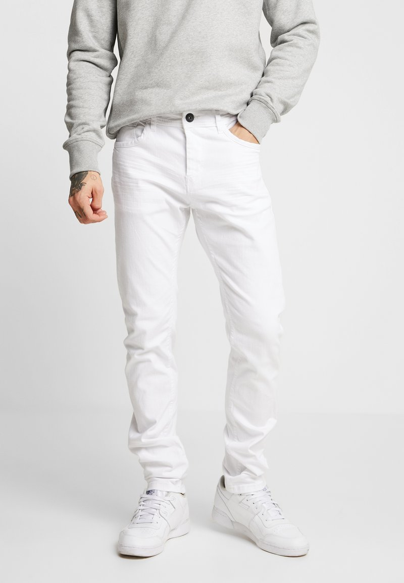 TOM TAILOR - TROY - Slim fit jeans - white