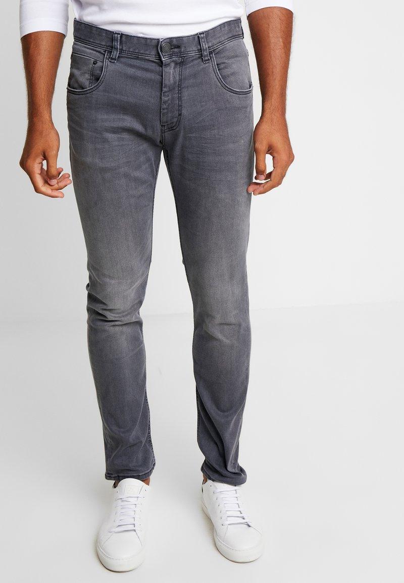 TOM TAILOR - JOSH - Slim fit jeans - grey denim