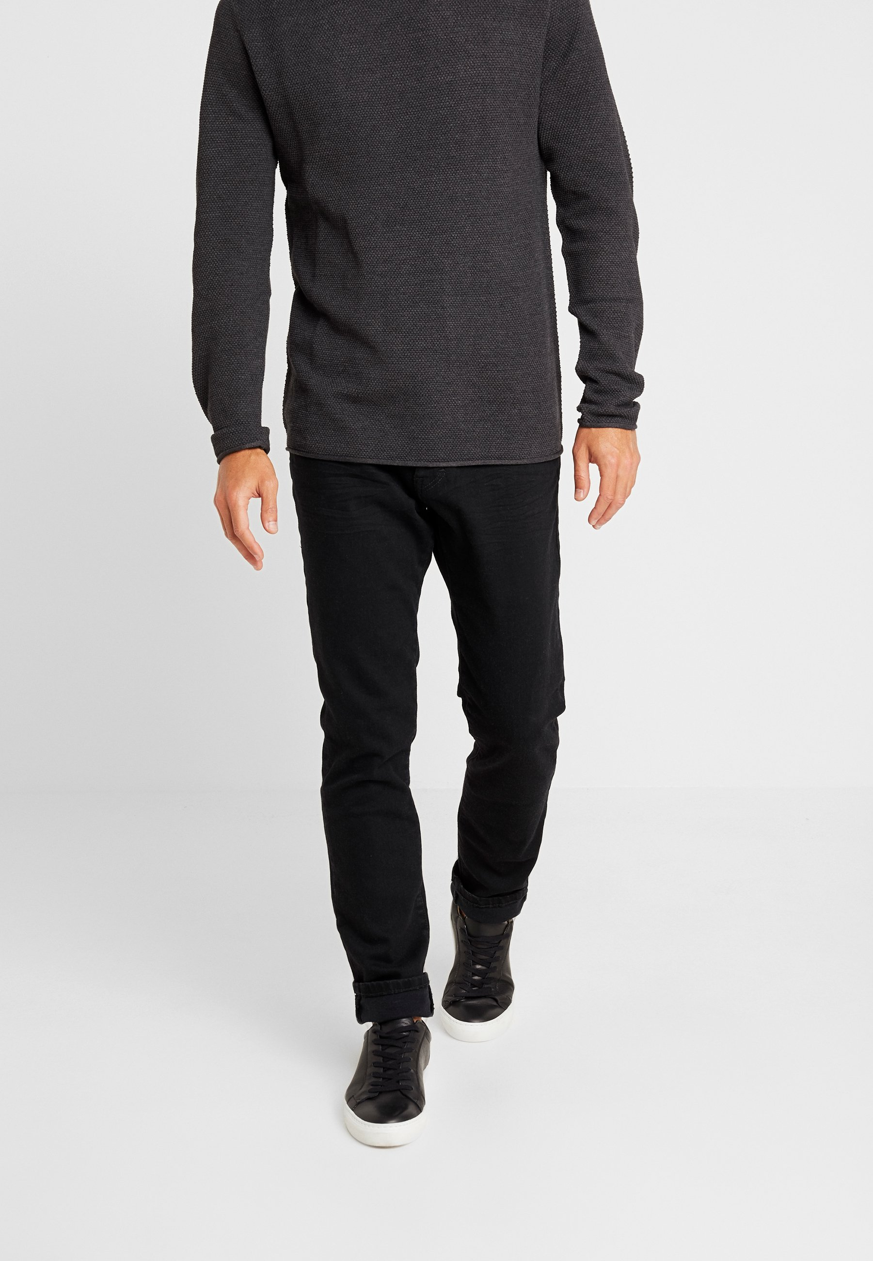 Black Tailor Clean Slim Tom JoshJean Raw Denim ED29IH