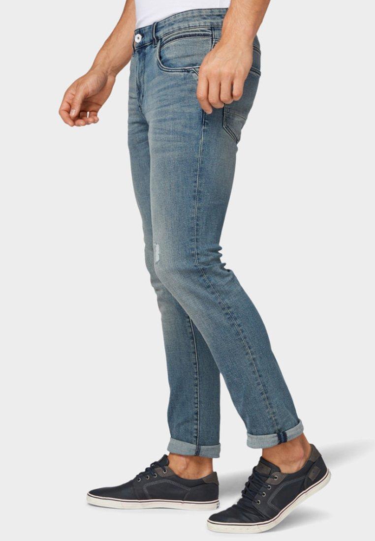 JOSH Slim fit jeans light stone wash denim
