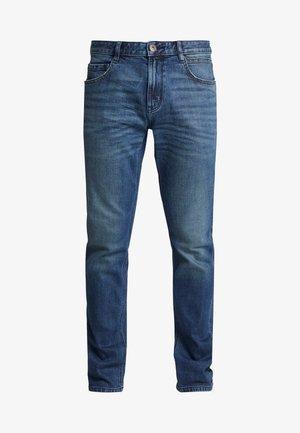 JOSH - Vaqueros slim fit - used mid stone blue denim