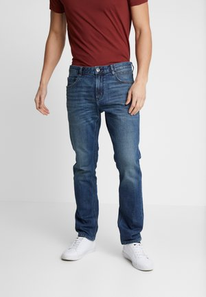 JOSH - Džíny Slim Fit - used mid stone blue denim
