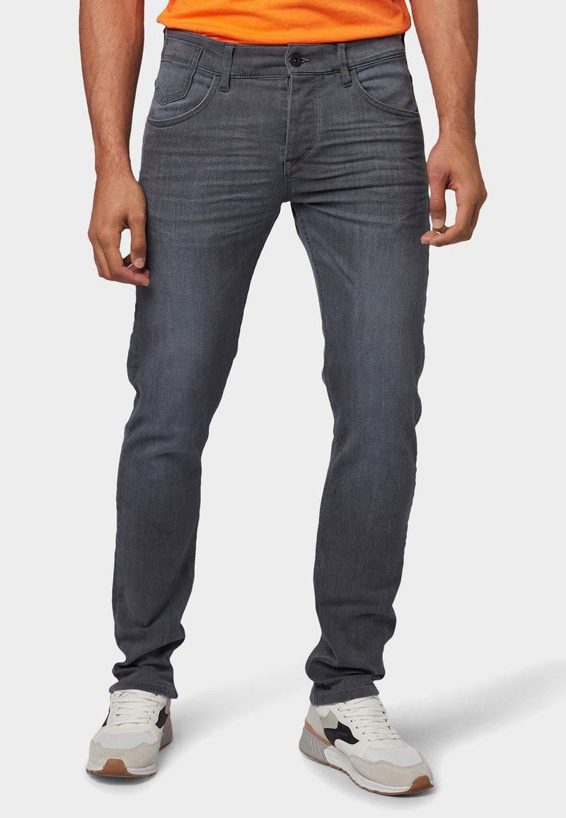TOM TAILOR - TROY - Jeans Slim Fit - grey denim