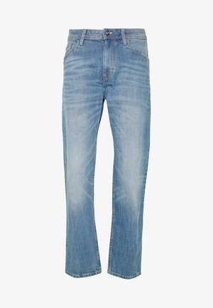 TRAD - Džíny Straight Fit - mid stone wash denim  blue