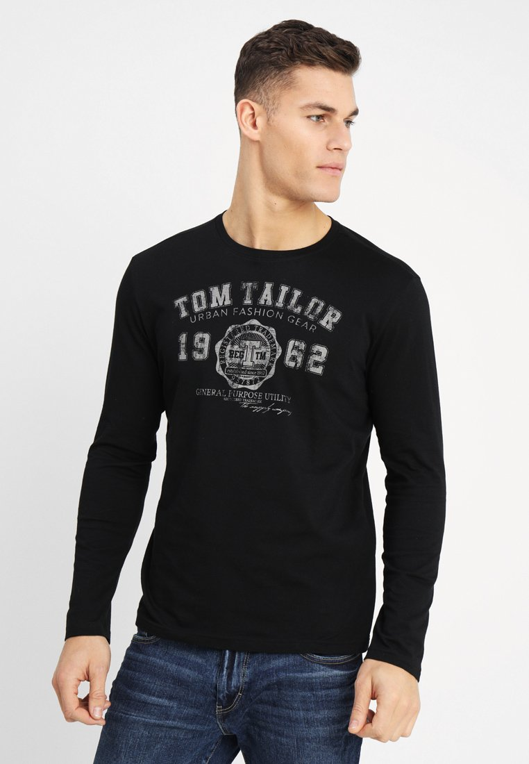 TOM TAILOR - LONGSLEEVE PRINT TEE - Langarmshirt - original