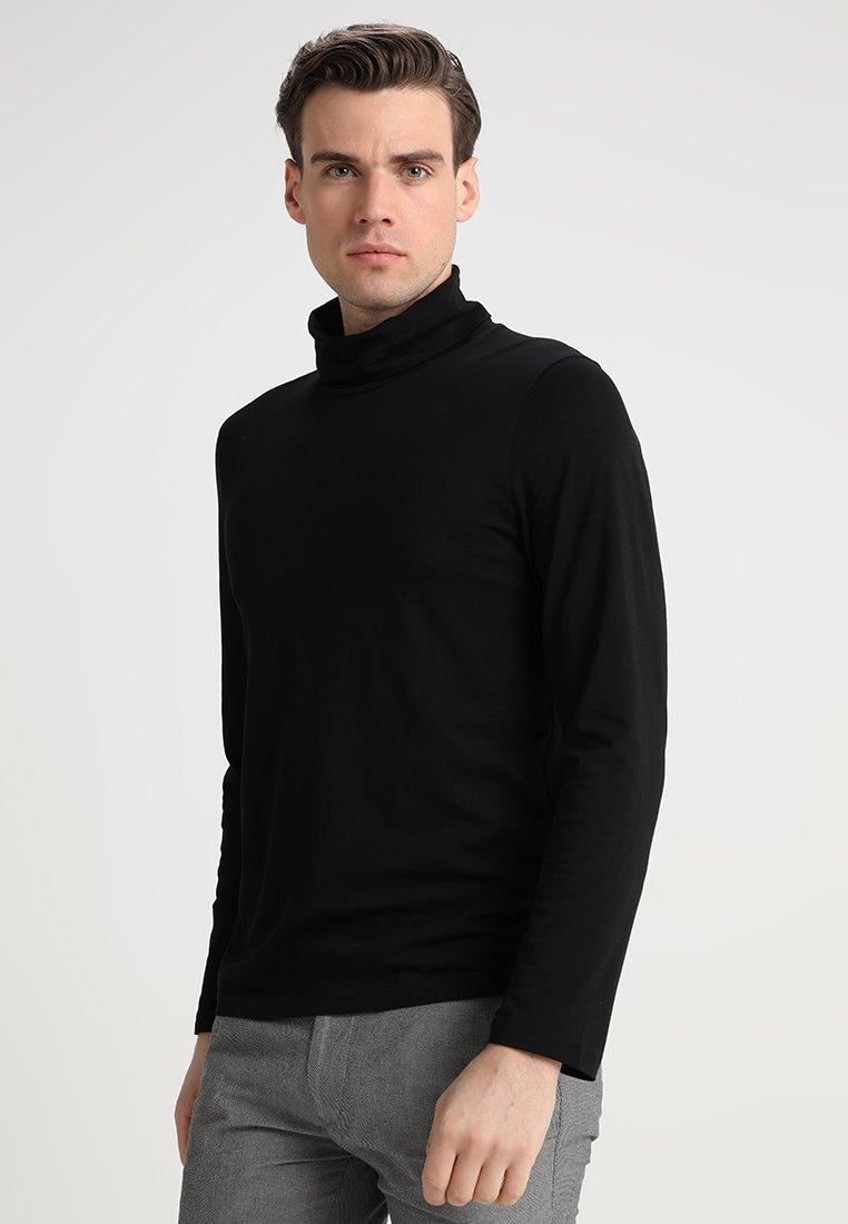 TOM TAILOR - ROLLNECK LONGSLEEVE - Long sleeved top - black