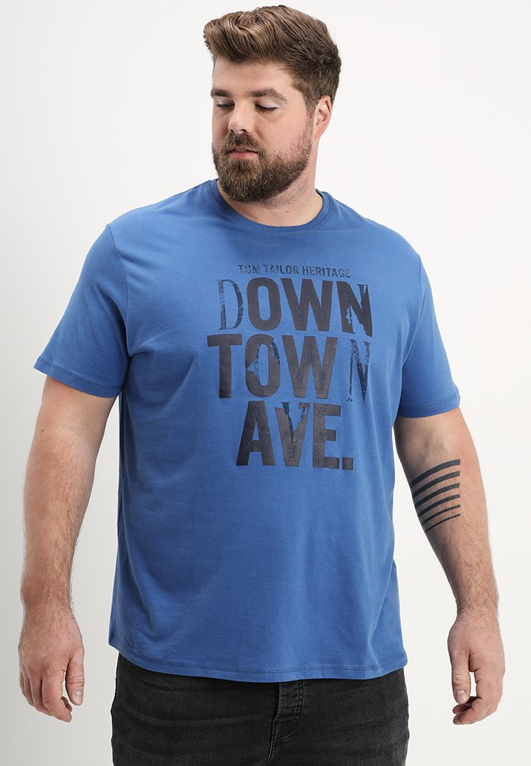 TOM TAILOR - T-Shirt print - toronto blue