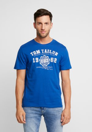 LOGO TEE - T-shirt con stampa - hockey blue