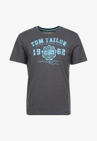 TOM TAILOR - LOGO TEE - T-shirt print - tarmac grey - 3