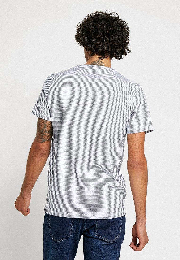shirt Imprimé White Striped Tom navy TeeT Tailor qGzpUVSM