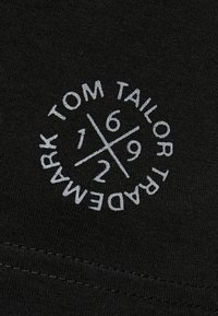 TOM TAILOR - DOUBLE PACK CREW NECK TEE - T-shirt basic - black - 5