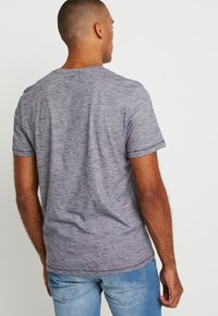TOM TAILOR - FINE TEE - T-shirt con stampa - navy/white - 2