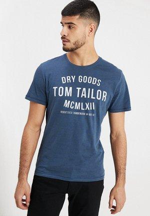 FINE TEE - T-shirt print - blue
