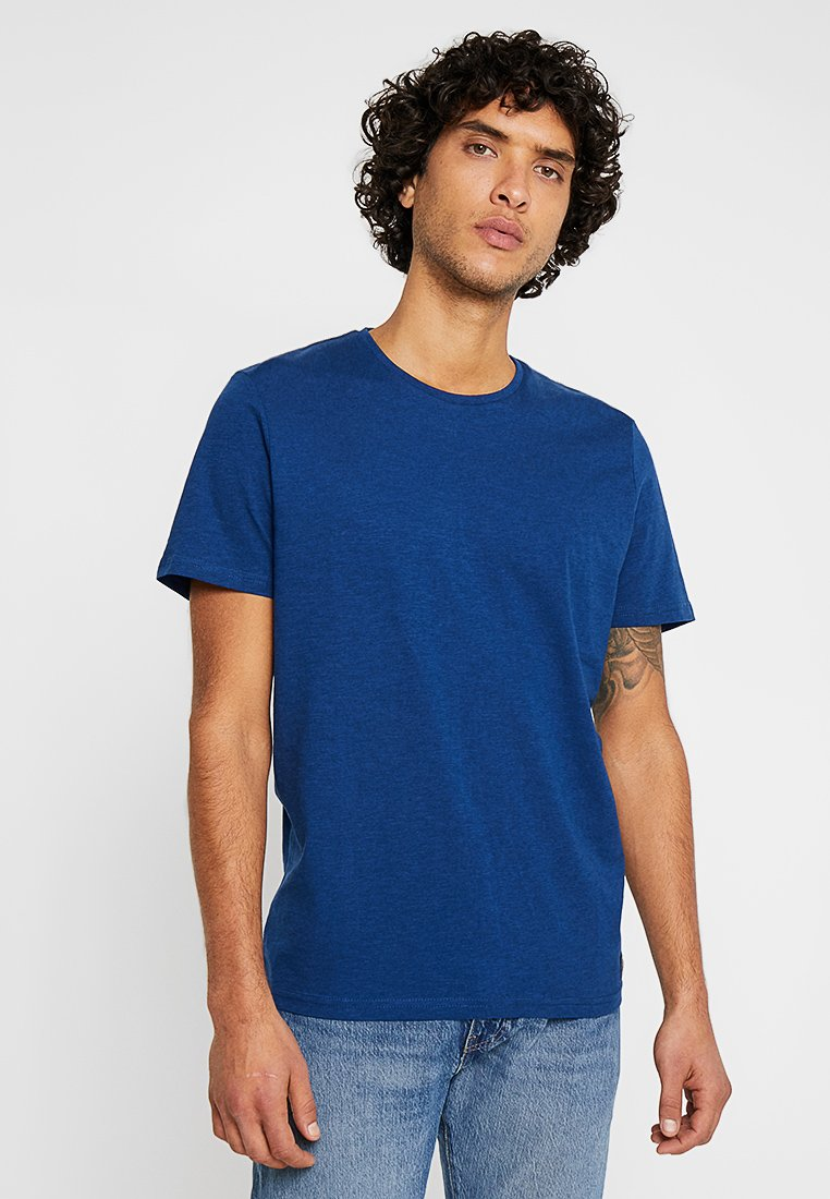 TOM TAILOR - EASY CREW NECK - T-Shirt basic - estate blue