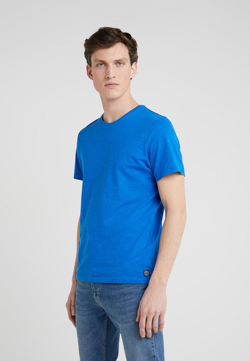TOM TAILOR - EASY CREW NECK - T-Shirt basic - simply blue