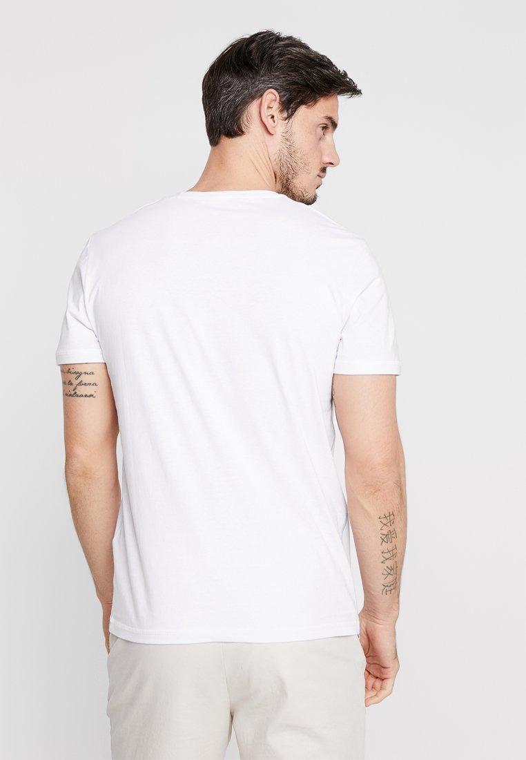 Imprimé White Tailor shirt TeeT Tom Y6f7yvbg