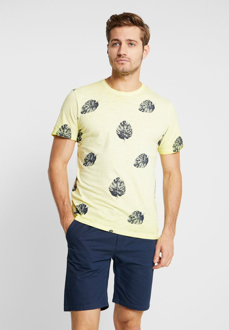 TOM TAILOR - TEE - T-shirt print - canary light