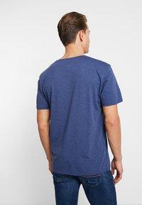 TOM TAILOR - SUMMER  - Print T-shirt - blue depths/white melange - 2